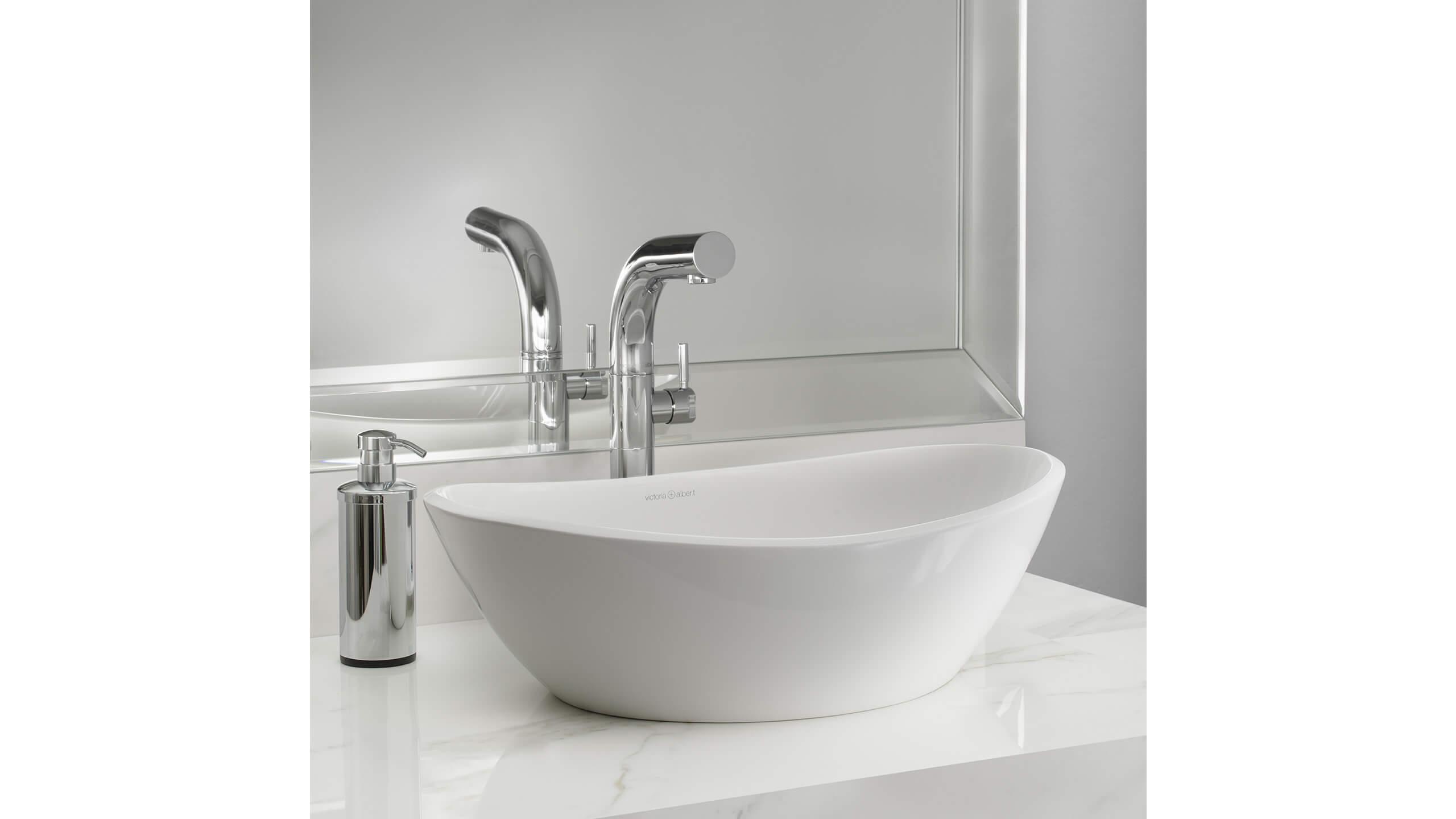 Amalfi 55 lavabo de ba o victoria albert estudio - Lavabo para bano ...