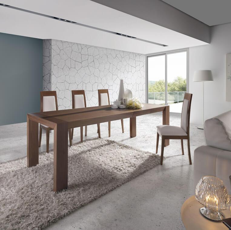 Mesa comedor extensible mod 278 almosa estudio proyecta - Mesa comedor porcelanico ...